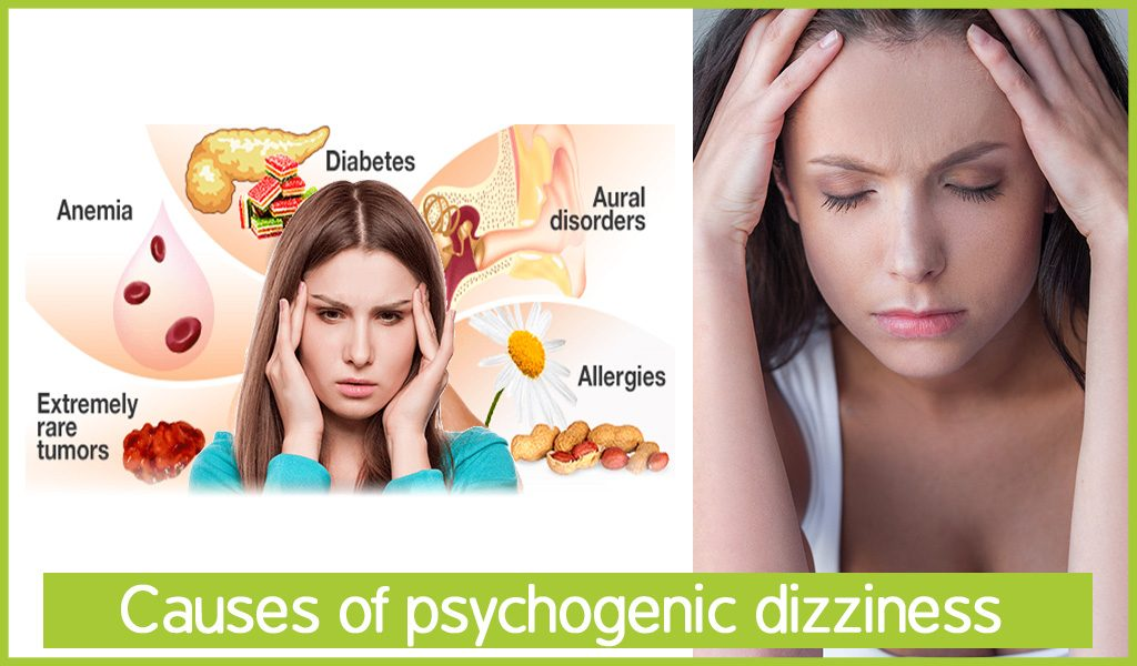 Causes of psychogenic dizziness